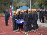 Dvig tekmovalne zastave
